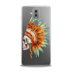 Lex Altern TPU Silicone Phone Case Indian Tribal Skull