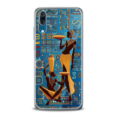 Lex Altern TPU Silicone Huawei Honor Case African Tribal Female