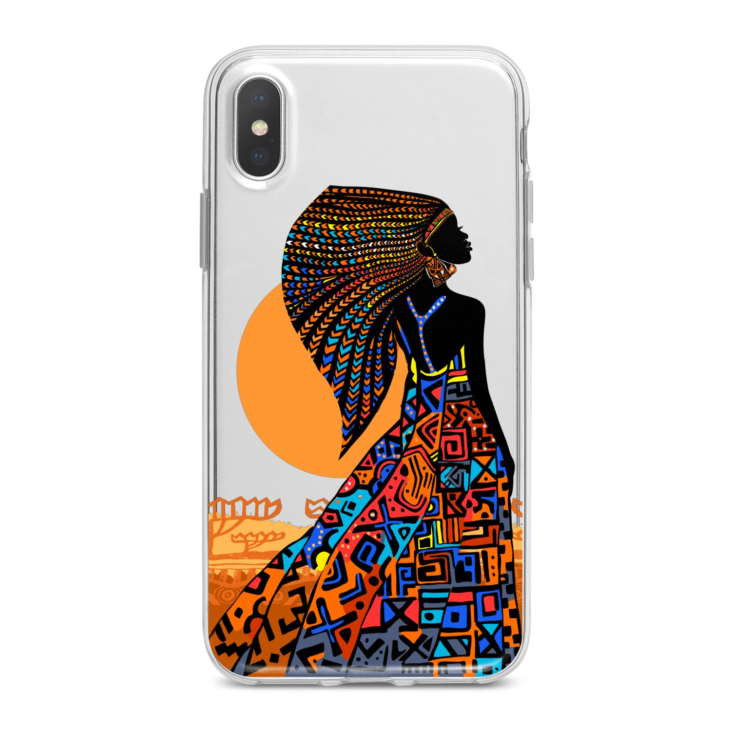 Lex Altern African Beauty Woman Phone Case for your iPhone & Android phone.