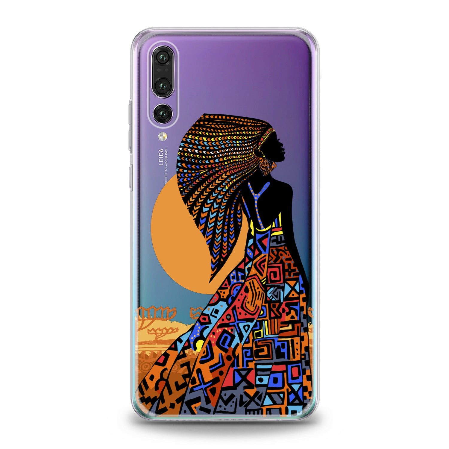 Lex Altern African Beauty Woman Huawei Honor Case