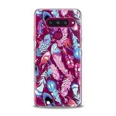 Lex Altern TPU Silicone Phone Case Colored Gentle Feathers