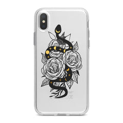 Lex Altern Floral Boho Snake Phone Case for your iPhone & Android phone.