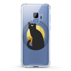 Lex Altern TPU Silicone Phone Case Bohemian Black Cat