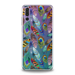 Lex Altern TPU Silicone Huawei Honor Case Gentle Feathers Pattern
