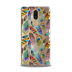Lex Altern TPU Silicone Lenovo Case Gentle Feathers Pattern