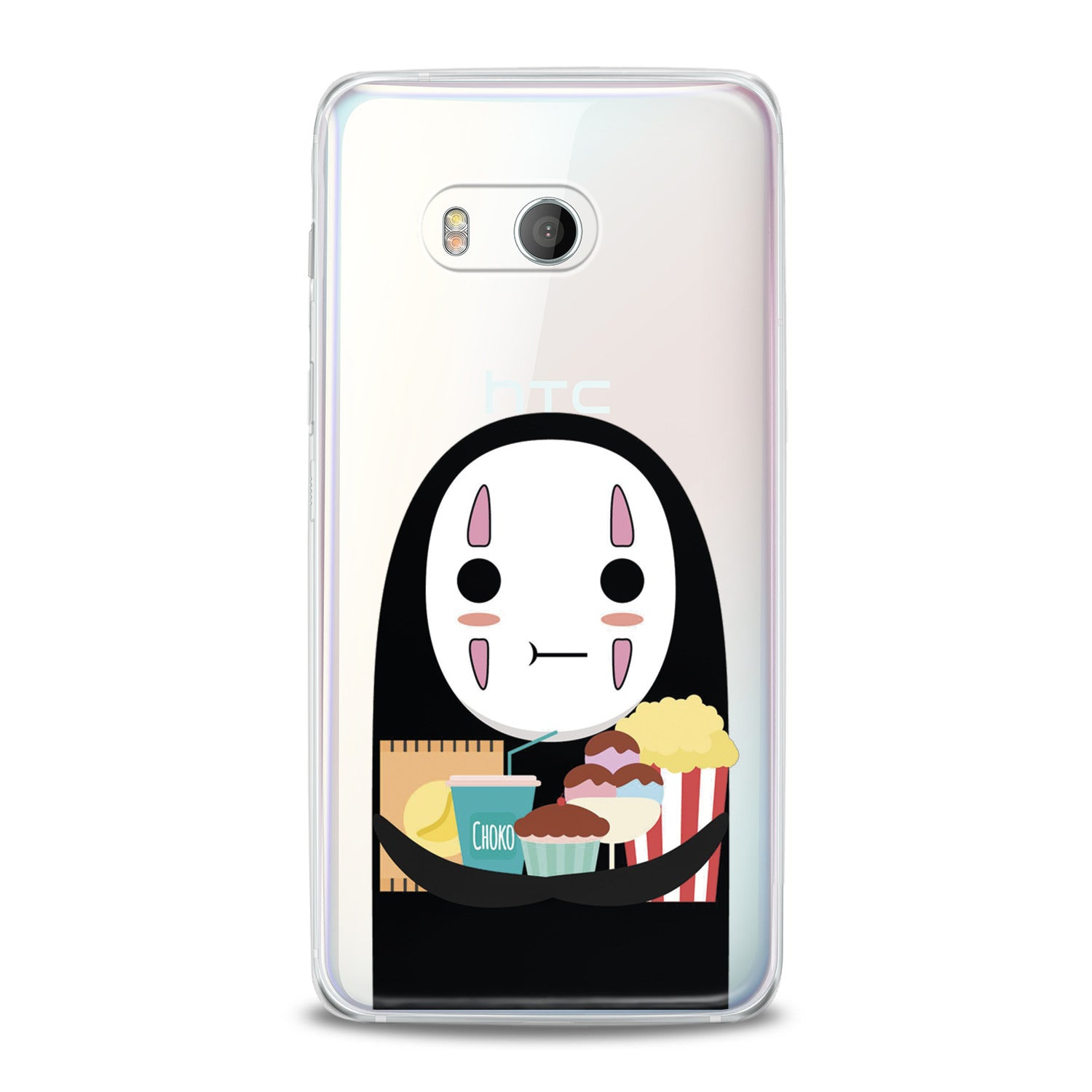 Lex Altern No Face Print HTC Case