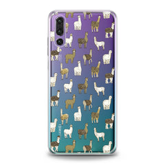 Lex Altern Alpaca Pattern Huawei Honor Case