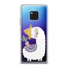 Lex Altern TPU Silicone Huawei Honor Case Happy Llama