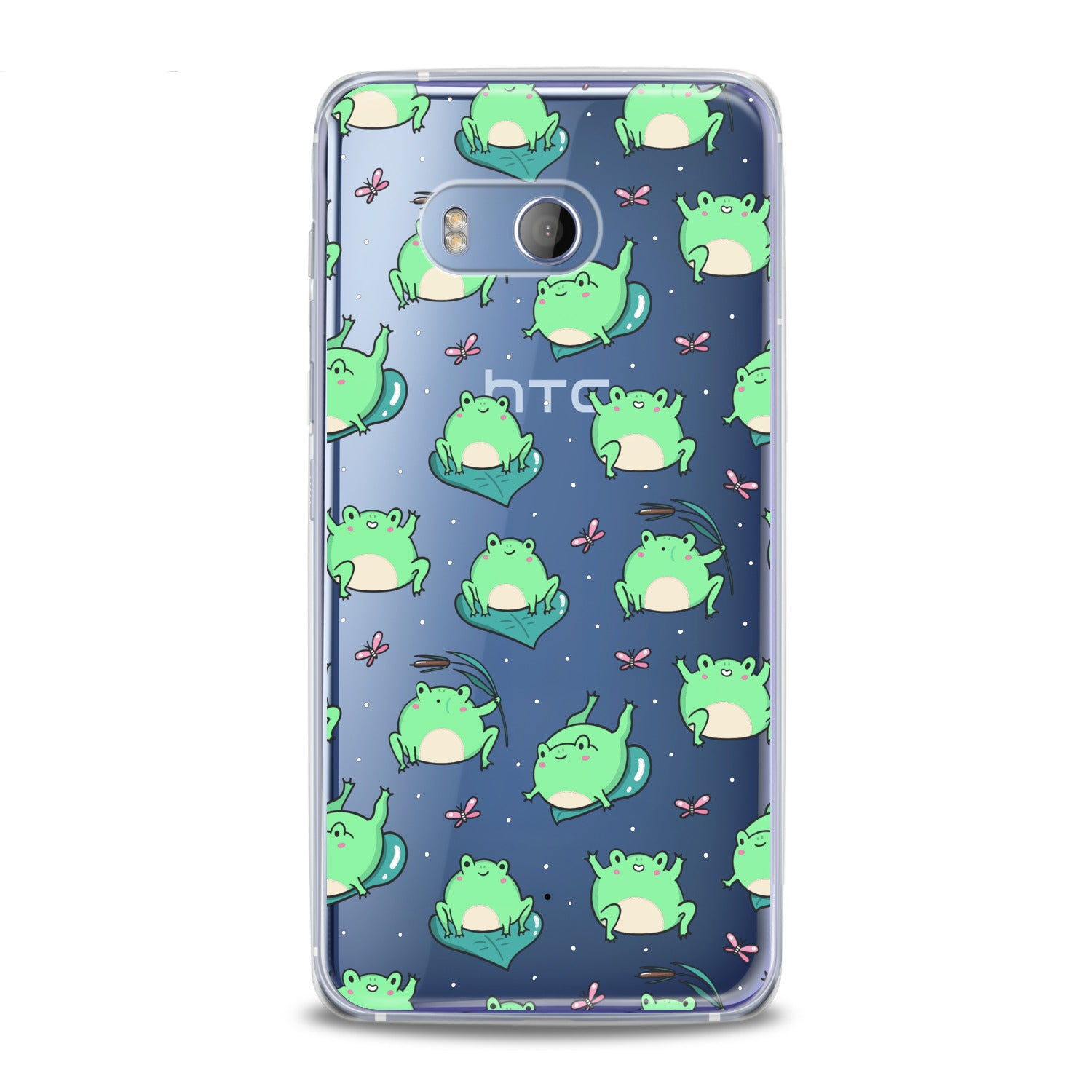 Lex Altern Kawaii Frogs Pattern HTC Case