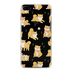 Lex Altern Cute Korgi Pattern Phone Case for your iPhone & Android phone.