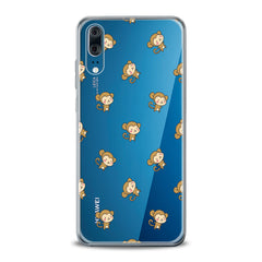 Lex Altern TPU Silicone Huawei Honor Case Baby Monkey Pattern
