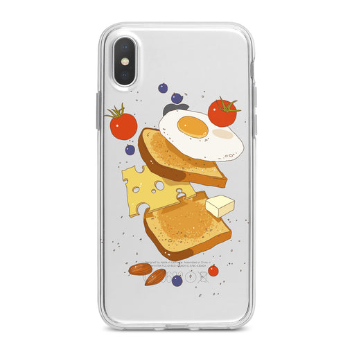 Lex Altern Cute Breakfast Kawaii Phone Case for your iPhone & Android phone.