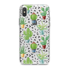 Lex Altern Cacti Pattern Phone Case for your iPhone & Android phone.