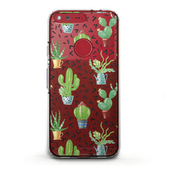 Lex Altern TPU Silicone Phone Case Cacti Pattern