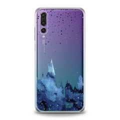 Lex Altern Blue Castle Huawei Honor Case