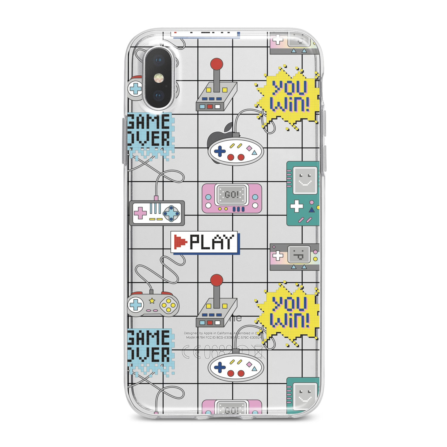 Lex Altern Geek Retro Gamepads Phone Case for your iPhone & Android phone.