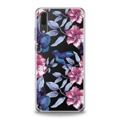 Lex Altern Pink Hibiscus Huawei Honor Case