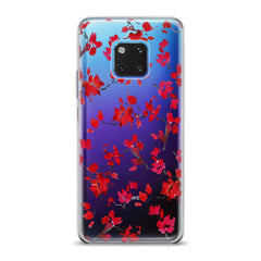 Lex Altern TPU Silicone Huawei Honor Case Watercolor Red Blossom