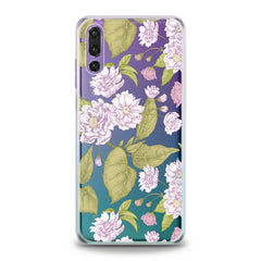 Lex Altern TPU Silicone Huawei Honor Case Pink Blooming Tree