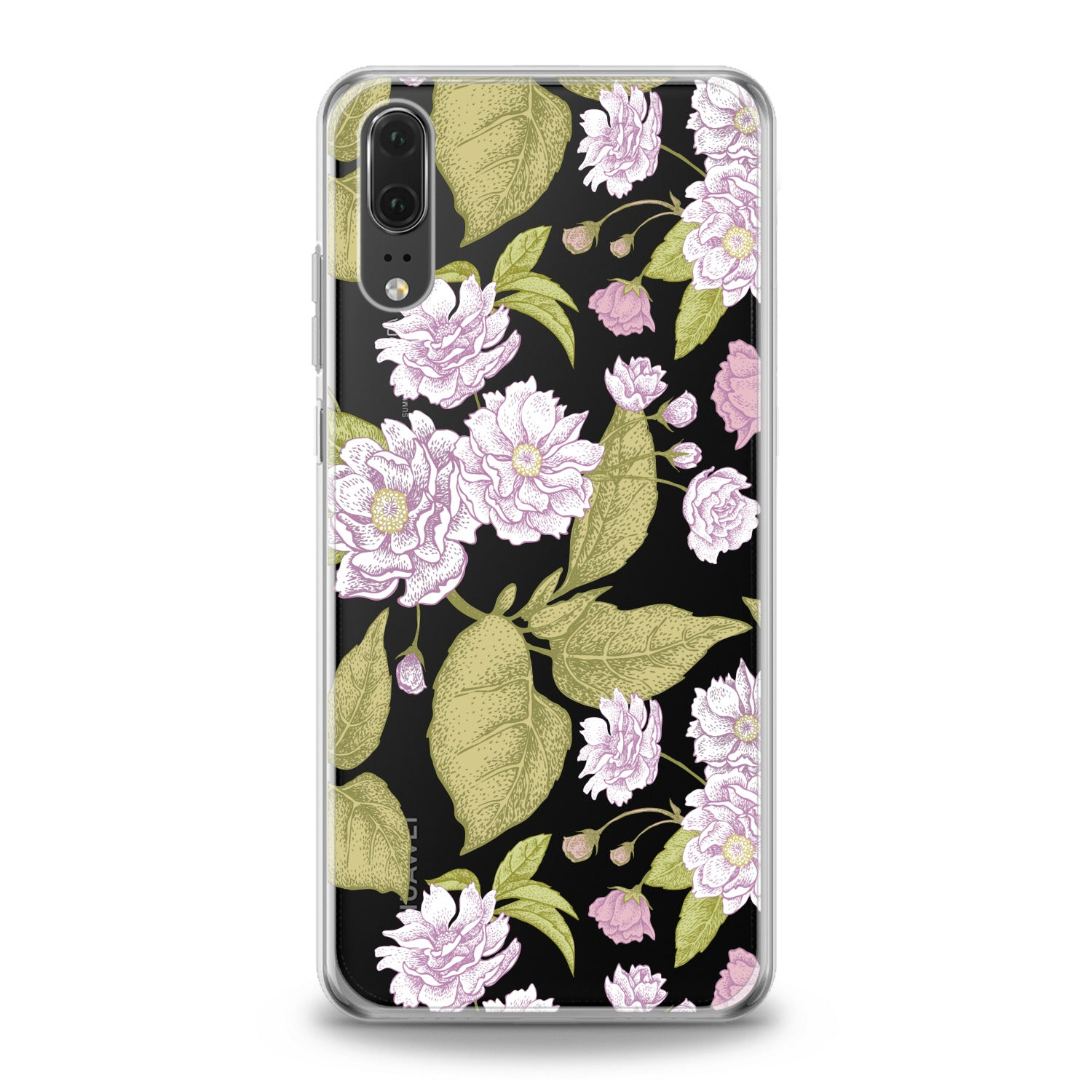 Lex Altern Pink Blooming Tree Huawei Honor Case