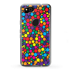 Lex Altern Google Pixel Case Colorful Dots