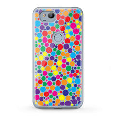 Lex Altern TPU Silicone Google Pixel Case Colorful Dots