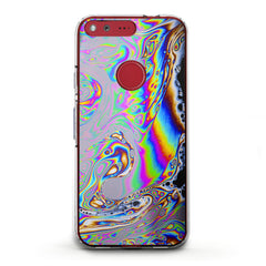 Lex Altern TPU Silicone Google Pixel Case Iridescent Visual Arts