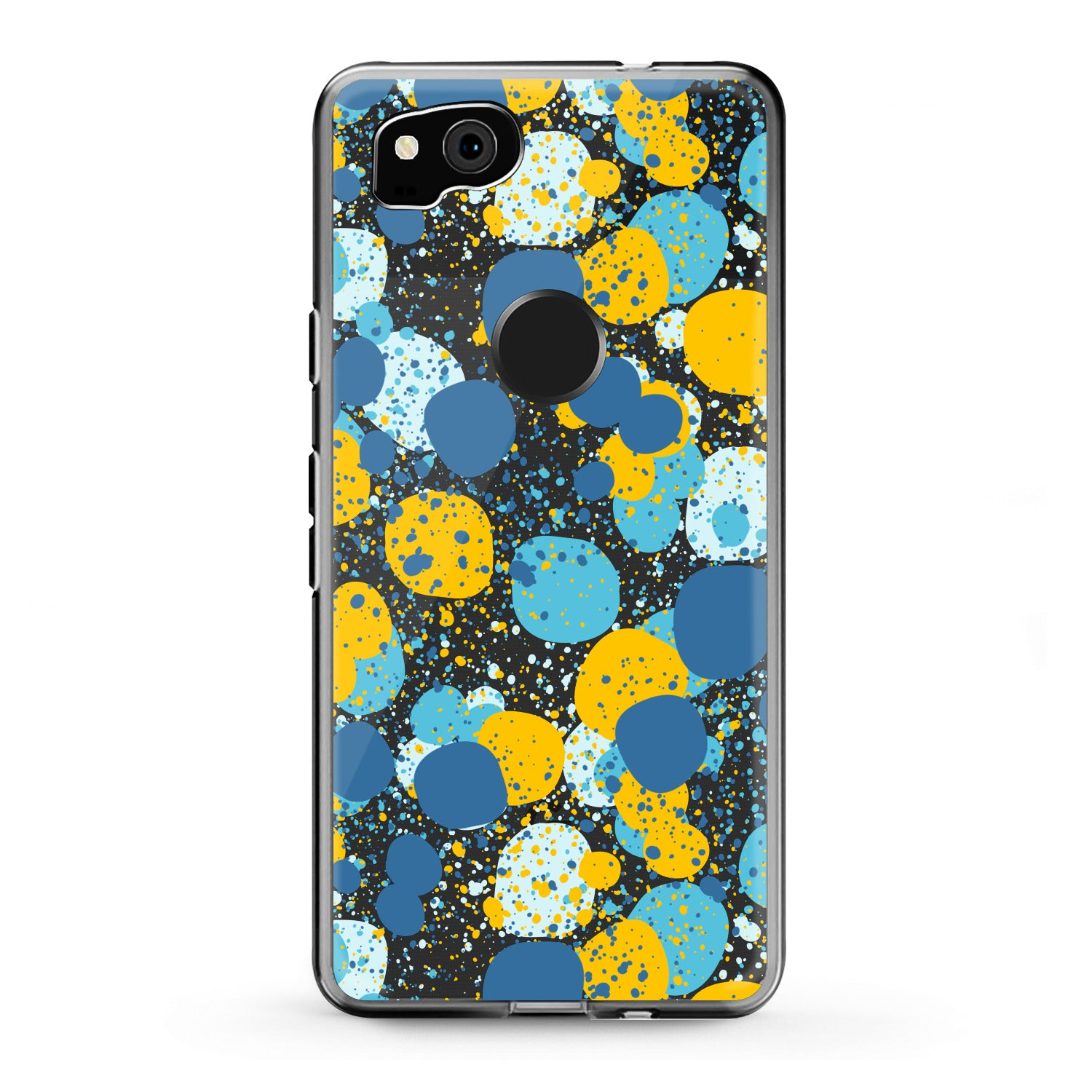 Lex Altern Google Pixel Case Colorful Abstract Dots