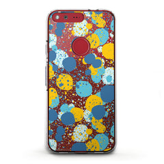Lex Altern TPU Silicone Google Pixel Case Colorful Abstract Dots
