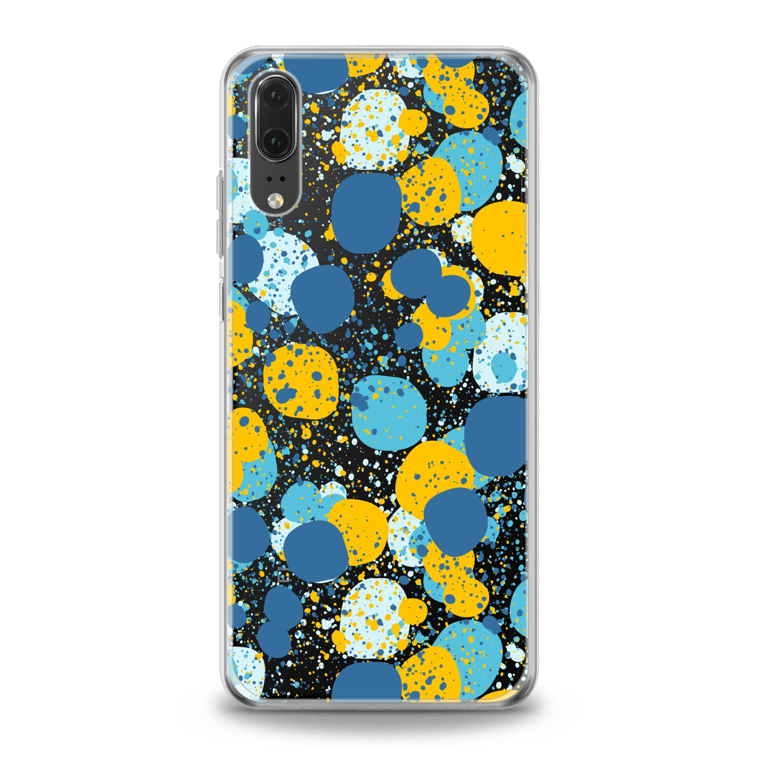 Lex Altern TPU Silicone Huawei Honor Case Colorful Abstract Dots