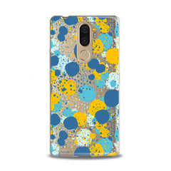 Lex Altern TPU Silicone Lenovo Case Colorful Abstract Dots