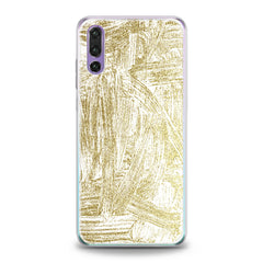 Lex Altern TPU Silicone Huawei Honor Case Golden Paint Art