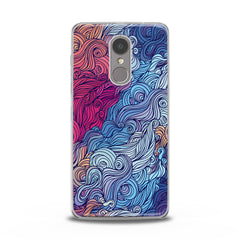 Lex Altern TPU Silicone Lenovo Case Colorful Abstract Drawing