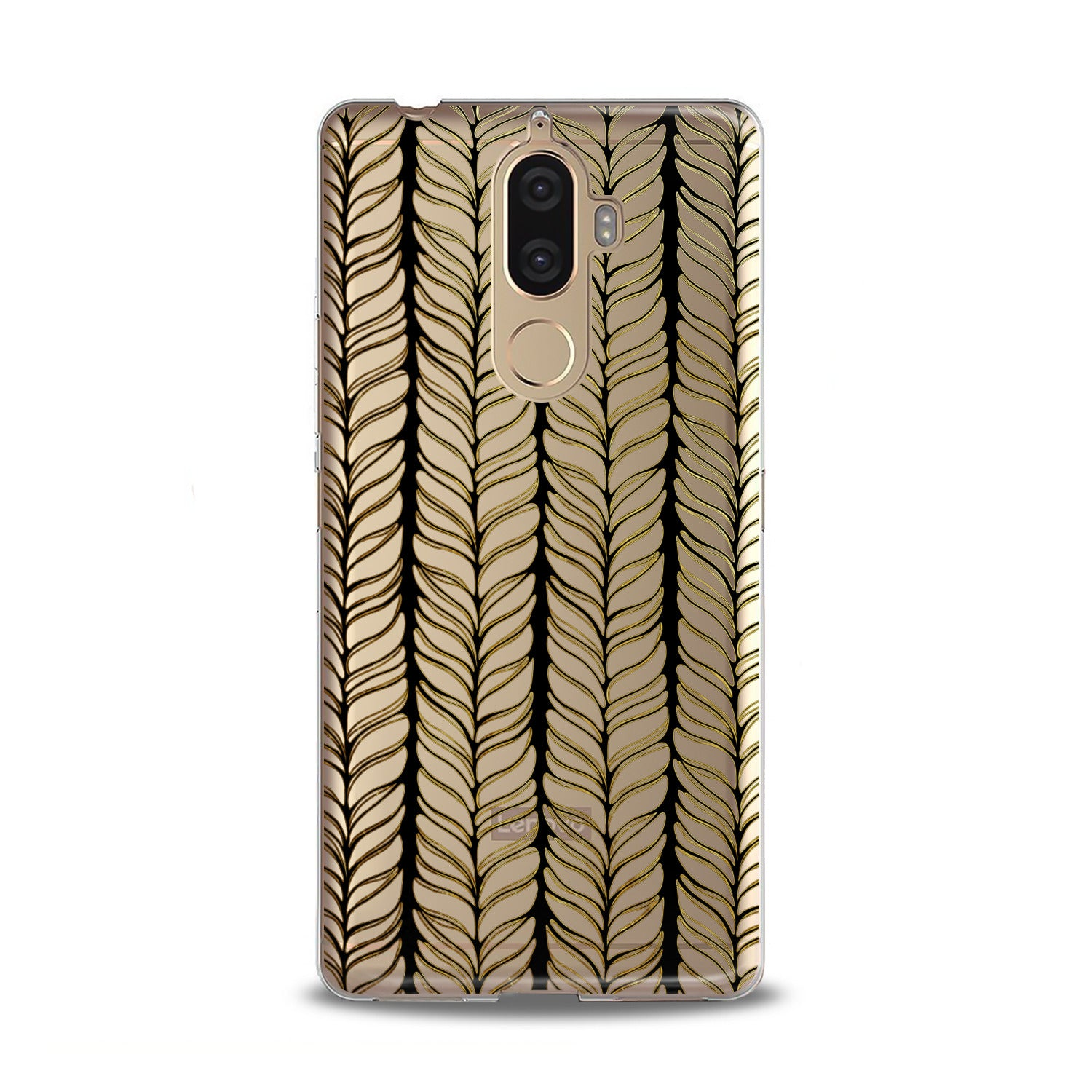 Lex Altern TPU Silicone Lenovo Case Abstract Spikelet