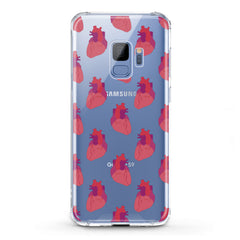 Lex Altern TPU Silicone Phone Case Red Heart Pattern
