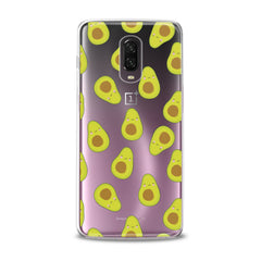 Lex Altern TPU Silicone Phone Case Kawaii Avocado Pattern