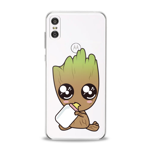 Lex Altern Lovely Baby Groot Motorola Case