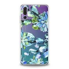 Lex Altern Cactus Watercolor Huawei Honor Case