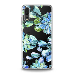 Lex Altern TPU Silicone Huawei Honor Case Cactus Watercolor