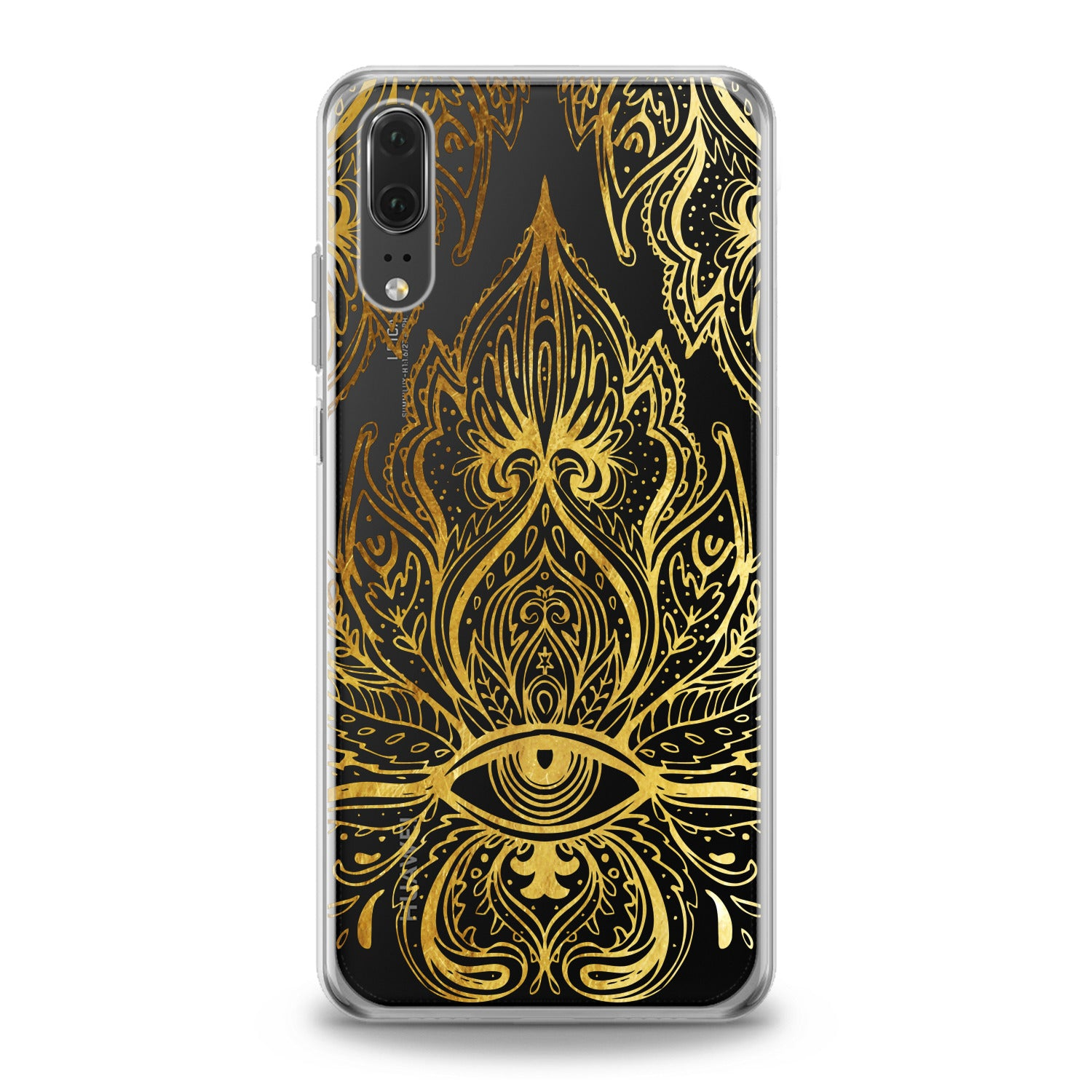 Lex Altern Golden Lotus Huawei Honor Case