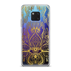 Lex Altern TPU Silicone Huawei Honor Case Golden Lotus