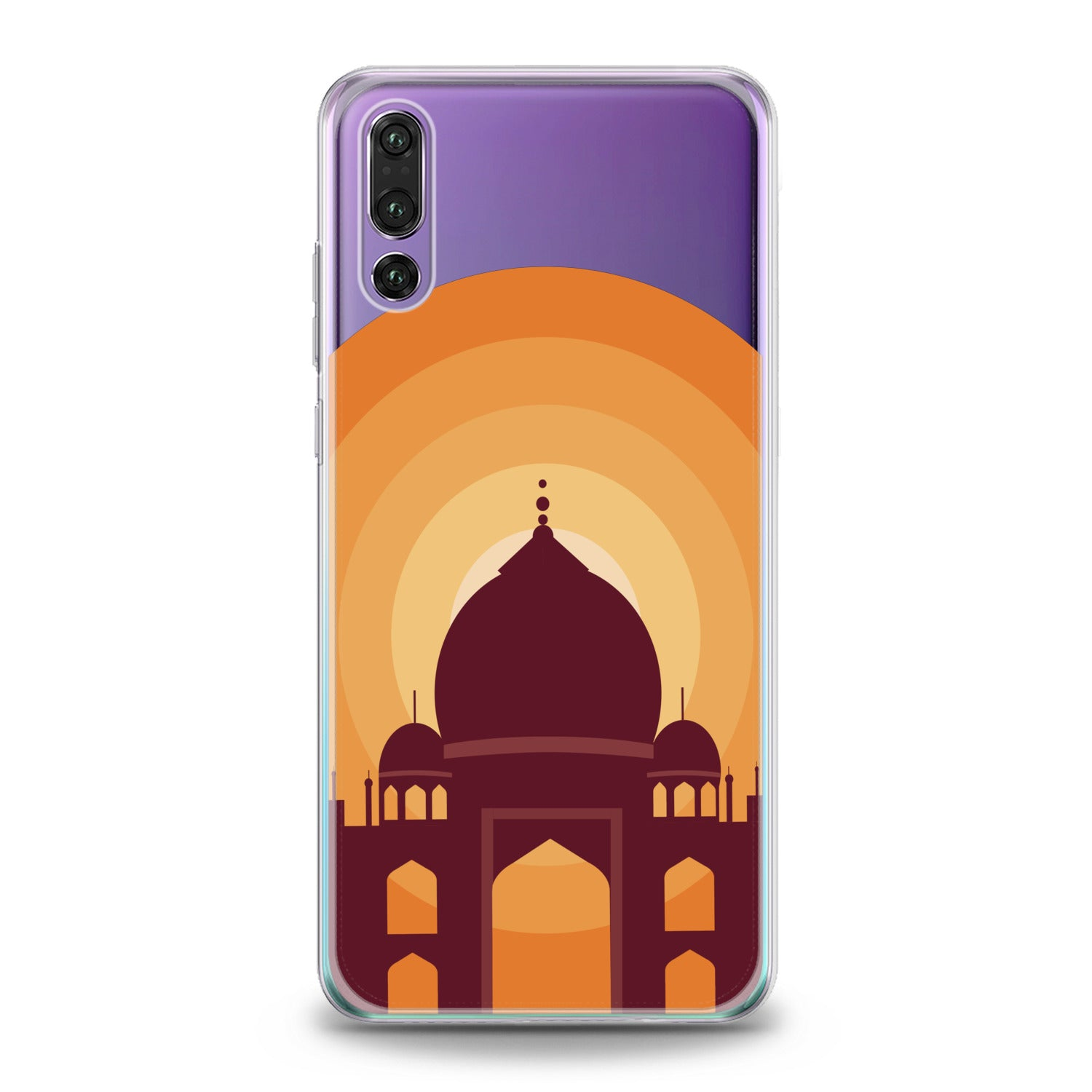 Lex Altern Taj Mahal Print Huawei Honor Case