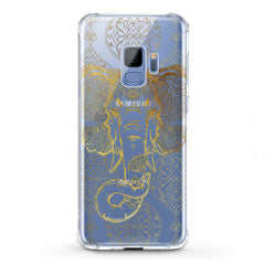 Lex Altern TPU Silicone Phone Case Gold Indian Elephant