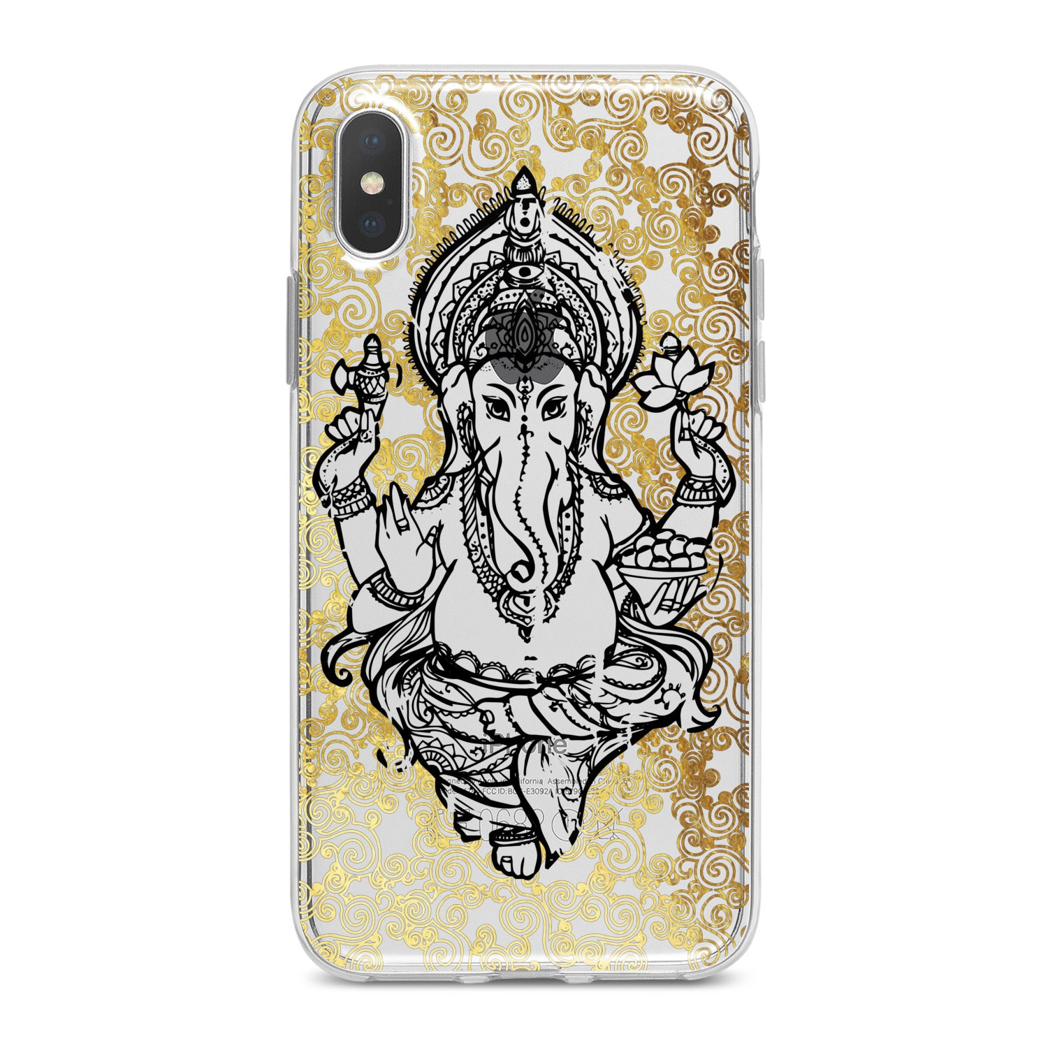 Lex Altern Ganesha Print Phone Case for your iPhone & Android phone.