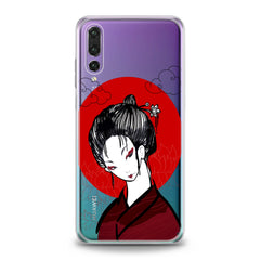 Lex Altern Traditional Japan Lady Huawei Honor Case