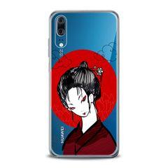 Lex Altern TPU Silicone Huawei Honor Case Traditional Japan Lady