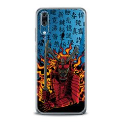 Lex Altern TPU Silicone Huawei Honor Case Flamy Samurai