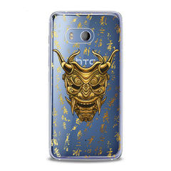 Lex Altern TPU Silicone HTC Case Golden Mask