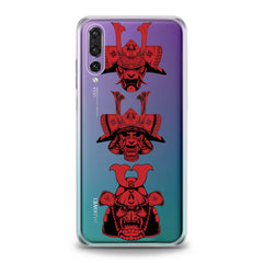 Lex Altern TPU Silicone Huawei Honor Case Red Japan Masks