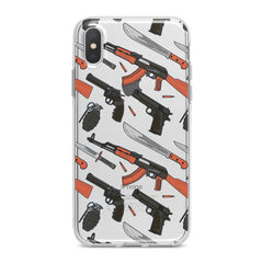 Lex Altern Weapons Print Phone Case for your iPhone & Android phone.